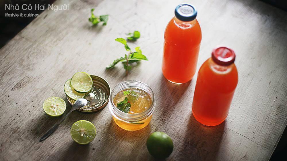 Lemon tea - Nhà Có Hai Người