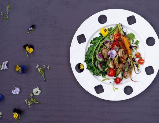 Salad rau củ áp chảo