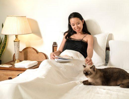 Thay bộ bedding, refesh không gian sống cho năm mới