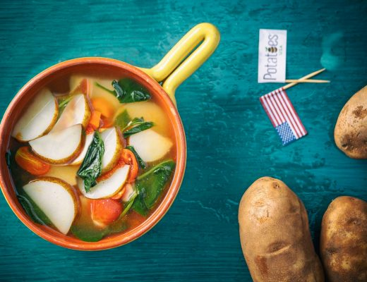 soup khoai tây